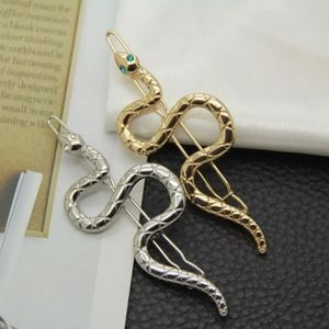 Silver/Gold Snake Jewelry Hair Clips